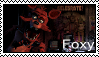 FNAF - Foxy Stamp by SolarFluffy