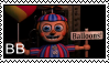 FNAF 2 - BB Stamp by SolarFluffy