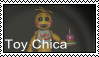 FNAF 2 - Toy Chica Stamp by SolarFluffy