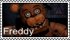 FNAF 2  - Freddy Stamp by SolarFluffy