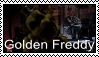 FNAF - Golden Freddy Stamp by SolarFluffy