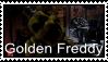 FNAF - Golden Freddy Stamp by SolarFluffy
