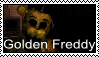 FNAF 2 - Golden Freddy Stamp by SolarFluffy