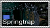 FNAF 3 - Springtrap stamp by SolarFluffy