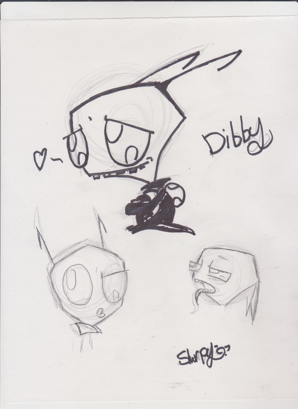 Cutelittlei  Irken Dibby by Slurpythenobblefox