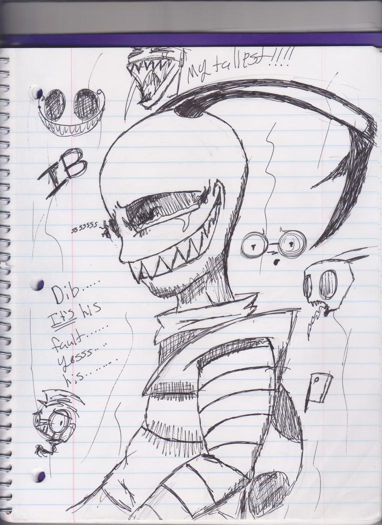 Fan-Art IB by Slurpythenobblefox