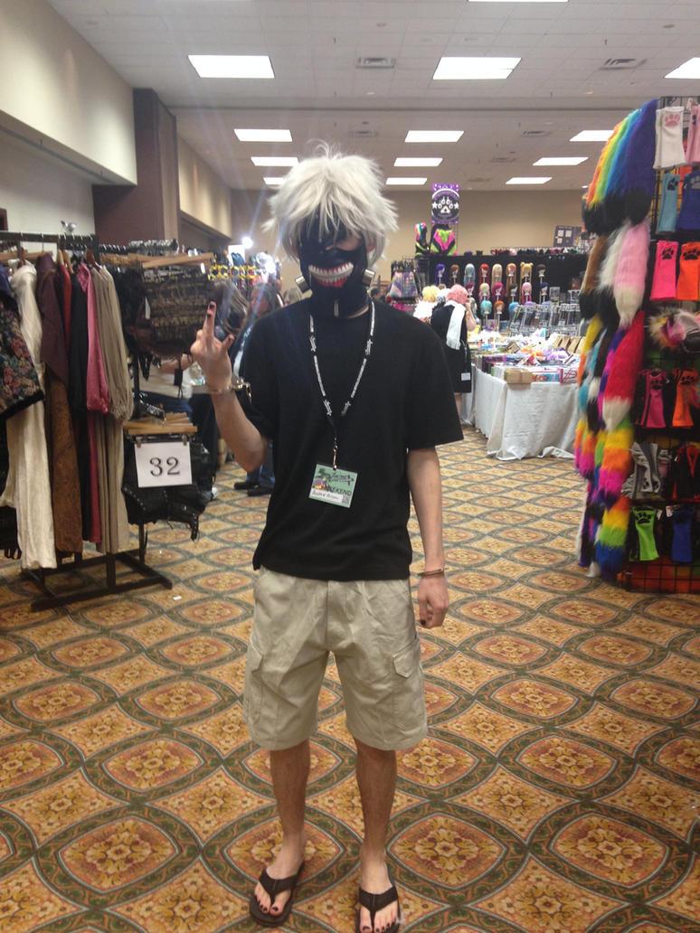 Anime CrossRoad 2015 Kaneki by Slurpythenobblefox
