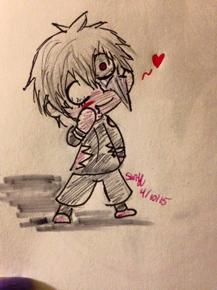 Chibi Ken: Yo cute, but crazy man! by Slurpythenobblefox