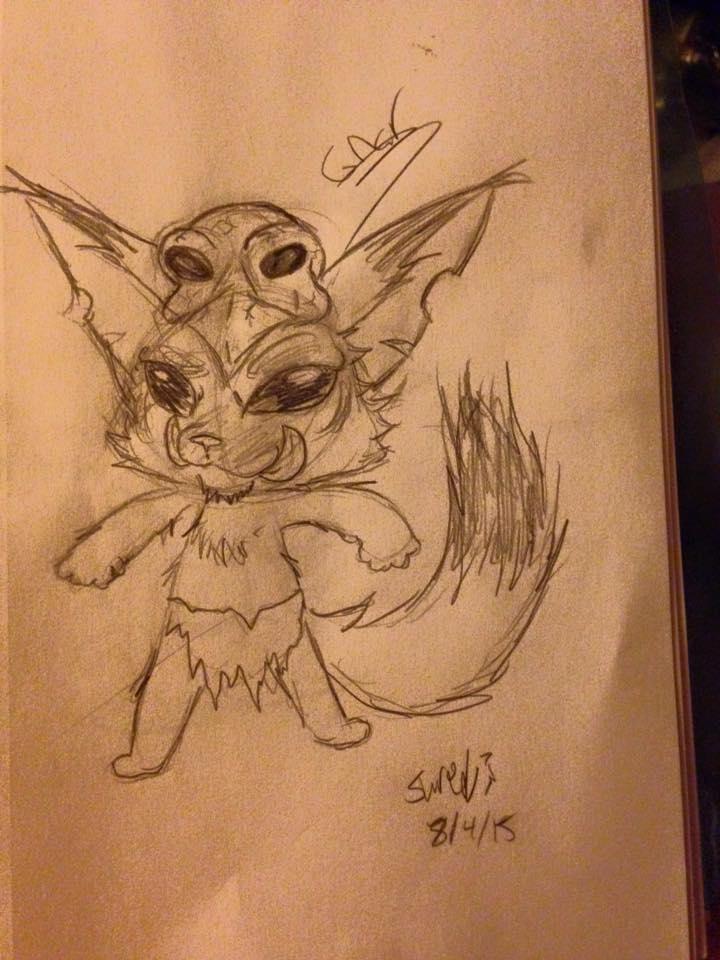 Gnar The Cuite by Slurpythenobblefox