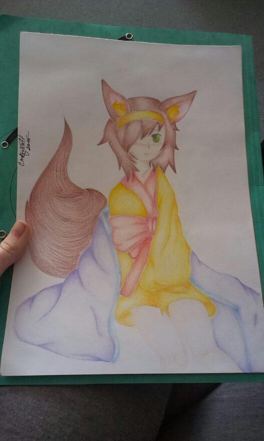 Hatsuse Izuna by CrazyWolfka