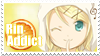 Rin Kagamine Stamp by Maggy-Neworld