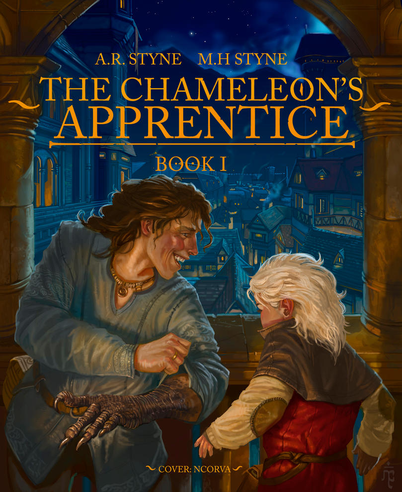 The Chameleon's Apprentice (Cover) by ncorva