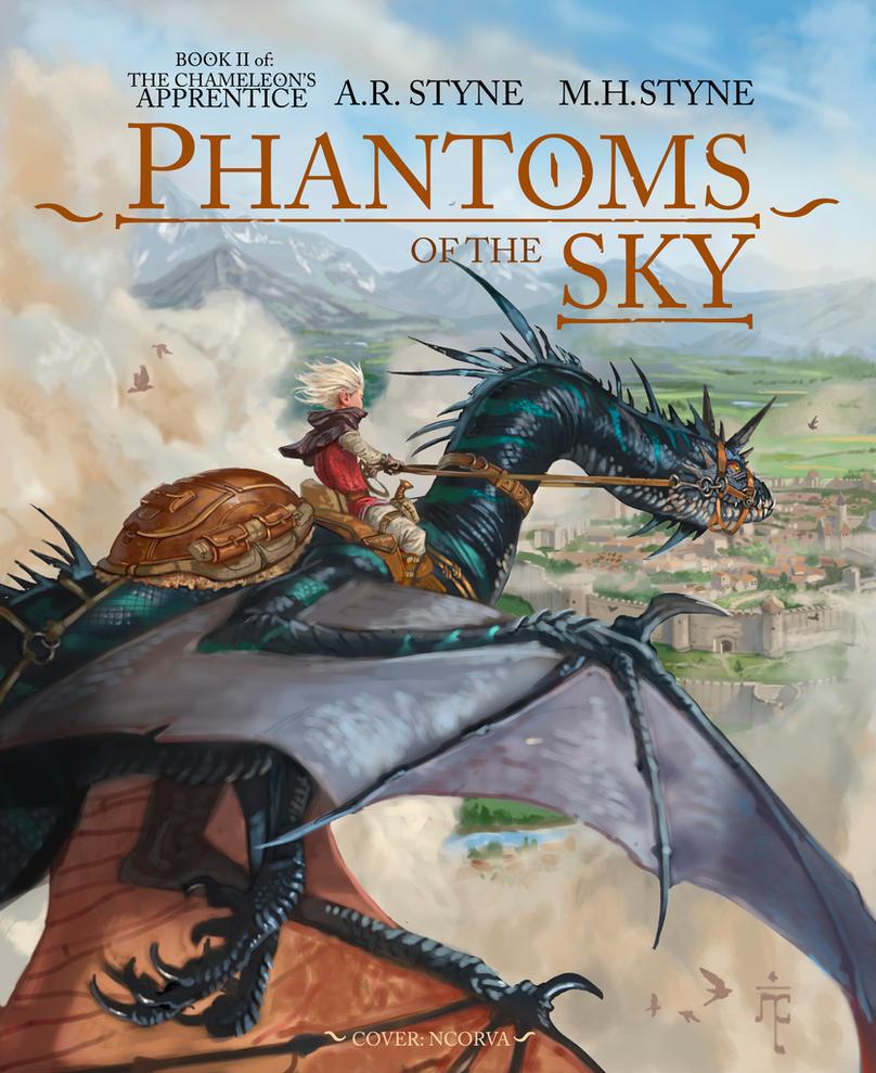 Phantoms of the sky (Chameleon's apprentice bk II) by ncorva