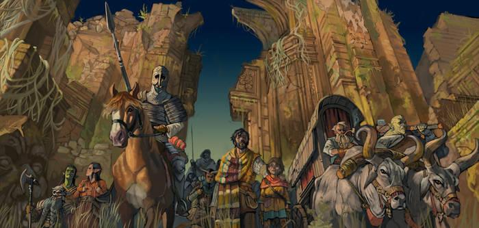 Settlers of the Fallen city