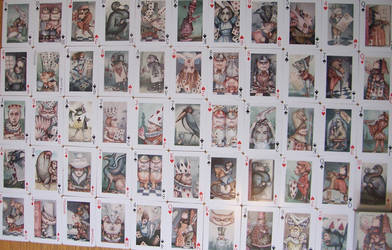 Alice Playing cards pack 2 by HOMELYVILLAIN