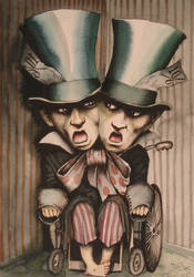 mad hatters by HOMELYVILLAIN