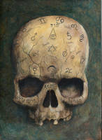 skull of a witch