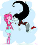 Bonnie and Marceline.