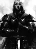 Warrior Priest by coskoniotis