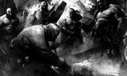 Ogre Kingdoms by coskoniotis