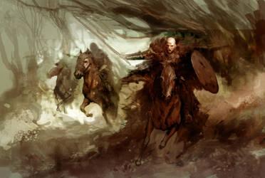 War Riders by coskoniotis
