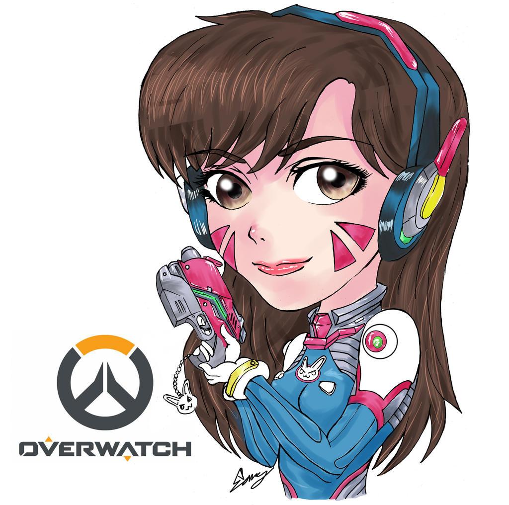 Overwatch D.va by shomin96