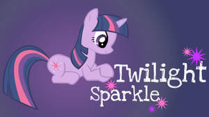 Twilight Sparkle Added Name WP by Hufflepuff-Disney