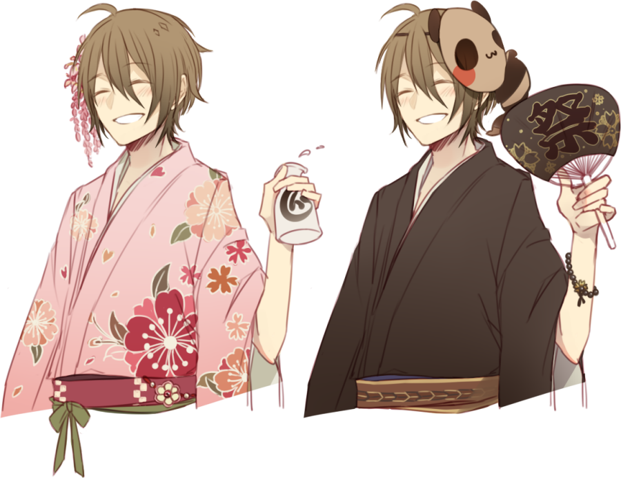 MAGE: Yukata by creamboys
