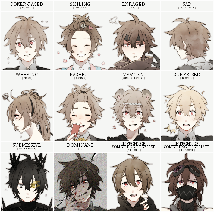 MAGE:Expression Meme by creamboys