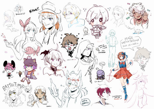 Sketch session 0725-0801