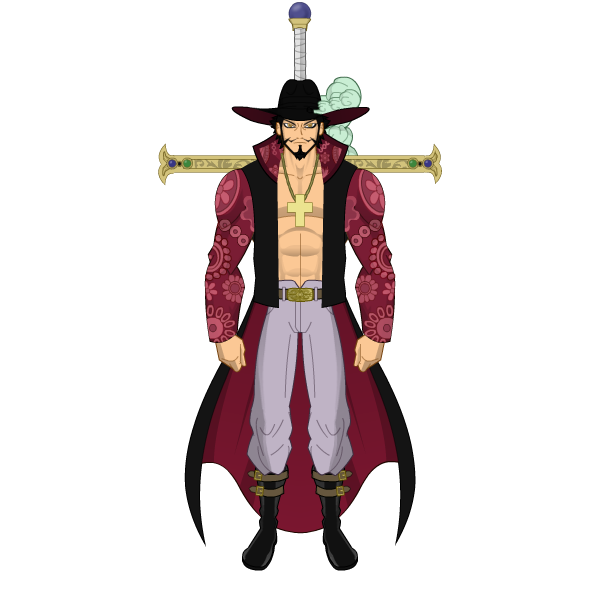 [Galeria] - Carcharocles - Página 2 Dracule_mihawk___one_piece_by_carcharocles-d95a2ga