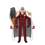 Akainu - One Piece by Carcharocles