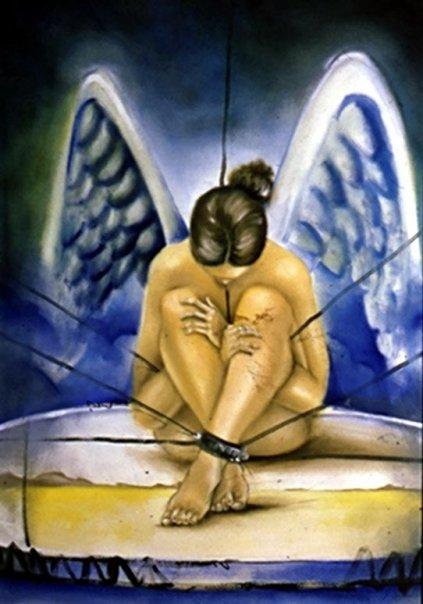 Angel caido by artegamor