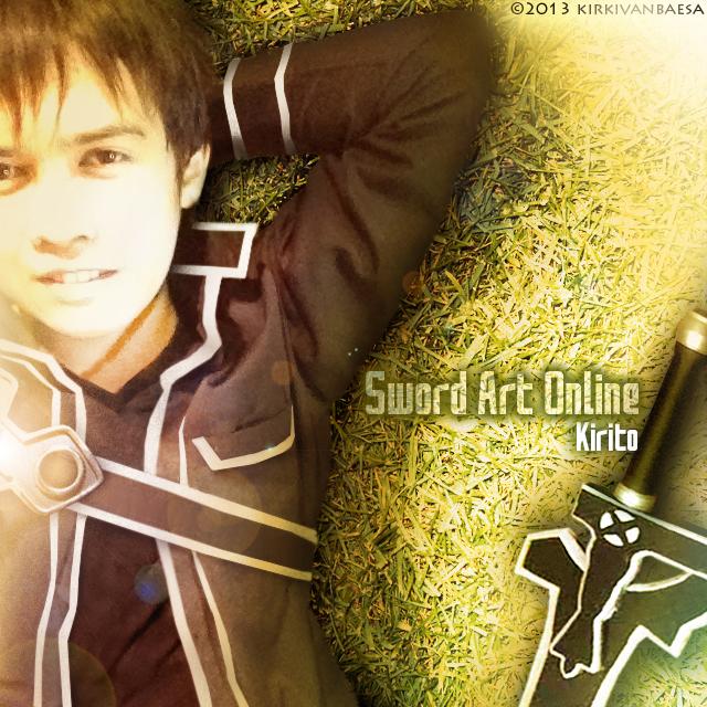 Sword Art Online - Kirito by kiRkXD