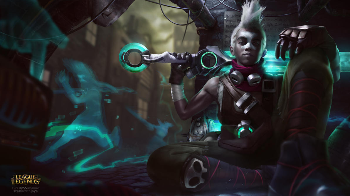 Ekko | The Boy Who Shattered Time by kiRkXD