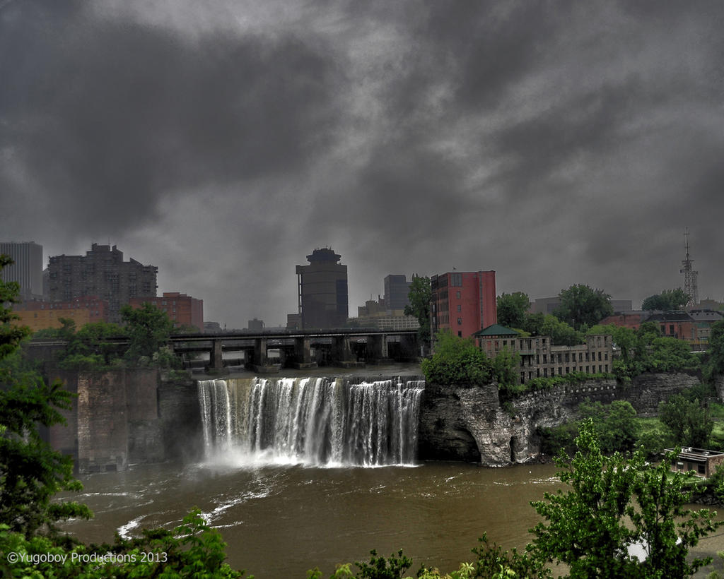 Rochester High Falls by Yugoboy