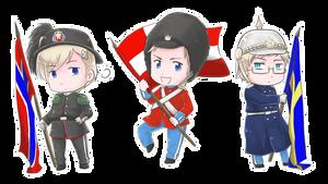Royal Guards by kurokawa-ayumi