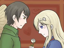 One rose is more... by kurokawa-ayumi