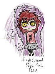Danganronpa - Icia, HighSchool Super Fail. by Cielowy