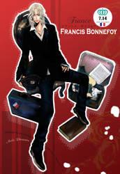 Francis Bonnefoy by JUN-KAMIJO