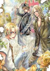 APH FAN BOOK  La Vie en Rose by JUN-KAMIJO