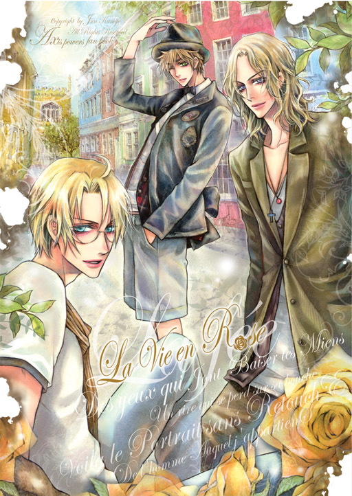 APH FAN BOOK  La Vie en Rose by JUN-KAMIJO