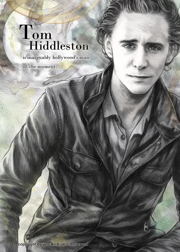 Tom Hiddleston by JUN-KAMIJO