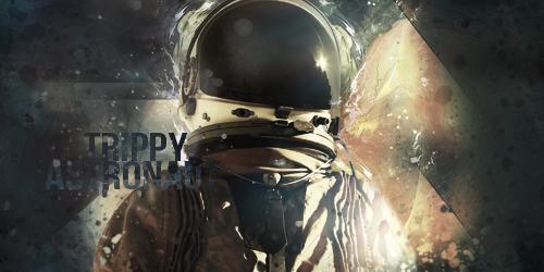 Trippy Astronaut v1 and v2 by LazyN