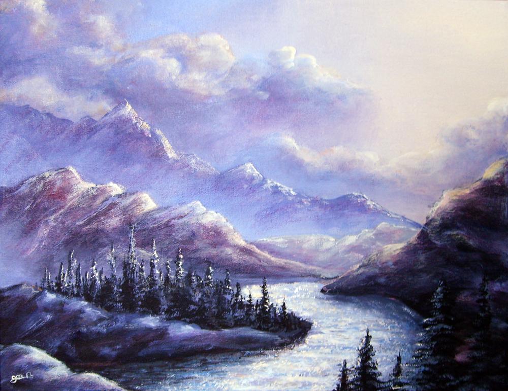 Purple mountain majesty by andantonius on deviantart for Mountain majesty