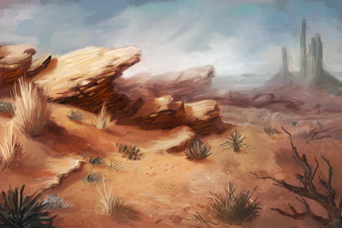 Biome: Hot Deserts by Andantonius