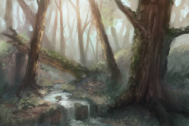 Biome: Temperate Forests by Andantonius