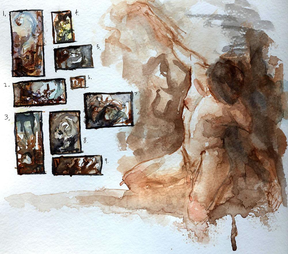 Watercolor Sketches by Andantonius on DeviantArt