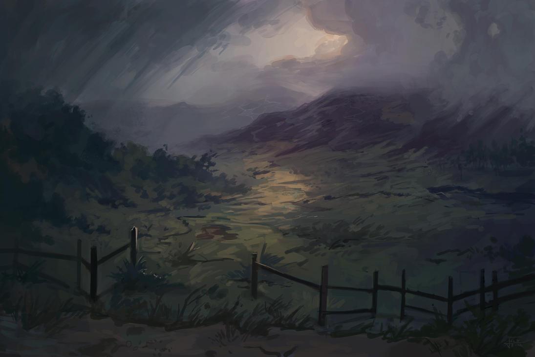 Environment Study 001 by Andantonius
