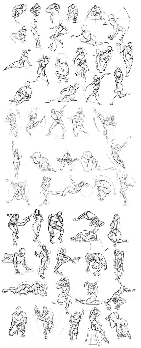 Figure Drawing 013 by Andantonius
